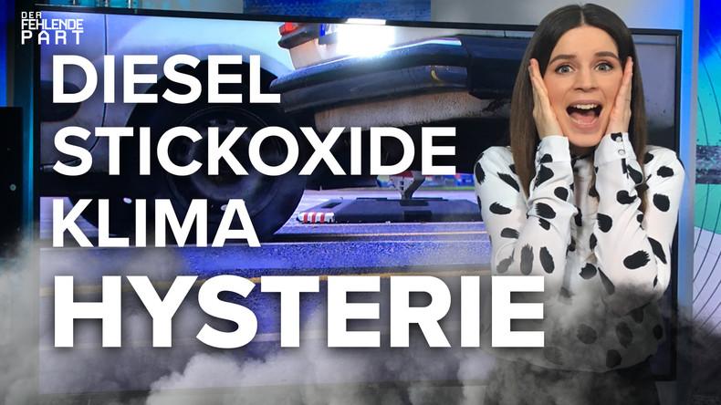"""""""Ausgepufft! Dieselfahrverbote und Stickoxidwerte unter Generalverdacht"""" [DFP 18]"""