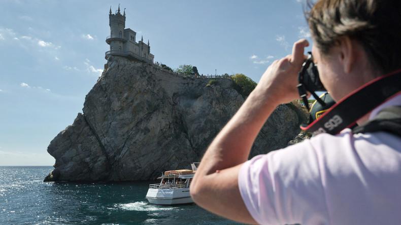 Krim: Touristen aus mehr als hundert Ländern besuchen die Halbinsel im Jahr 2018