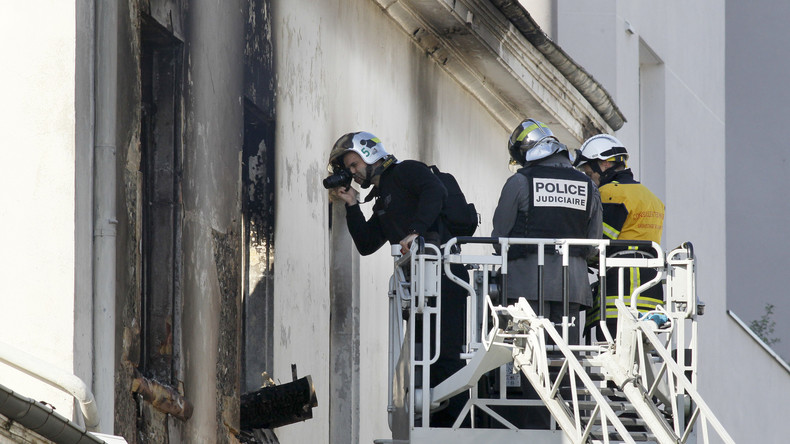 Frau und Kind sterben bei Feuer in Lyon – Brandstiftung vermutet
