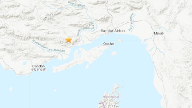 Starkes Erdbeben erschüttert Iran