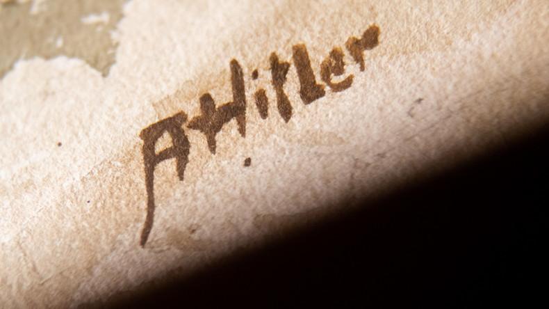 Versteigerung in Nürnberg: Kein Besitzerwechsel für angeblich von Hitler gemalte Bilder