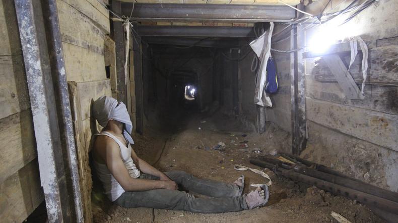 Zwei Palästinenser sterben in Schmugglertunnel von Ägypten