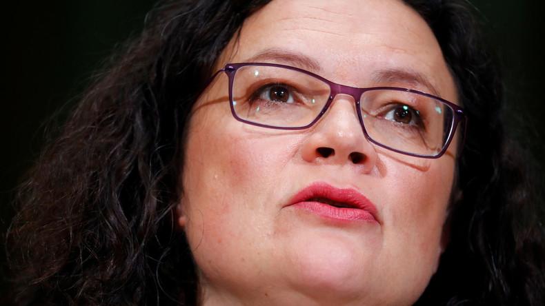 Live: LIVE: Andrea Nahles gibt Abschlusspressekonferenz zur SPD-Klausur