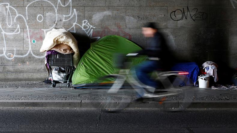 AfD will Obdachlose in Flüchtlingsheimen unterbringen