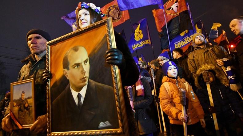 Verkehrte Welt in Kiew: Polizist soll bestraft werden, weil er sich gegen Bandera ausgesprochen hat