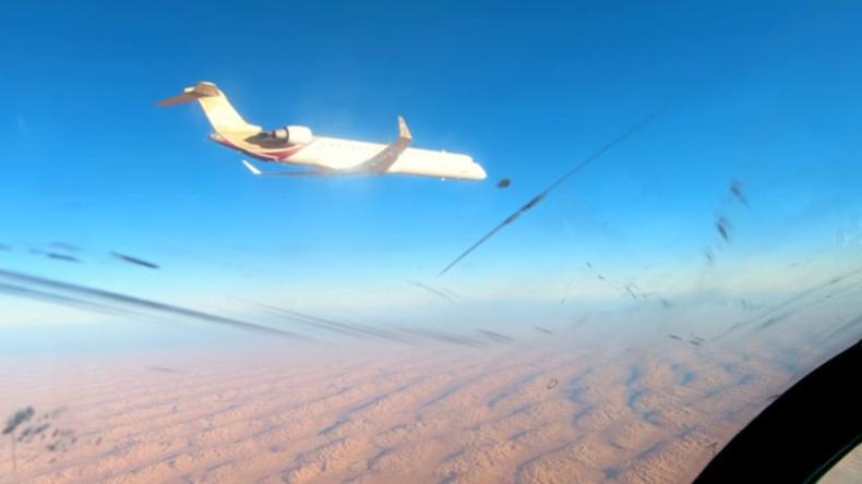 Libysche Luftwaffe fängt Zivilflugzeug ab, weil es Sperrzone missachtete