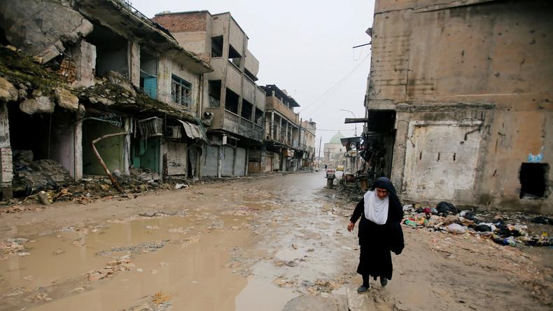 Mossul: Von der US-Koalition zerstört und immer noch in Trümmern (Video)