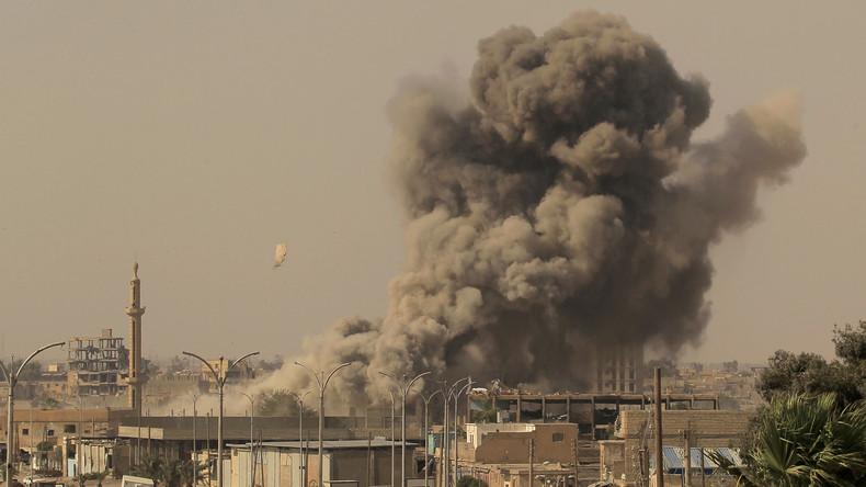Syrien: 16 Zivilisten, darunter 7 Kinder, durch Angriffe der US-geführten Koalition getötet