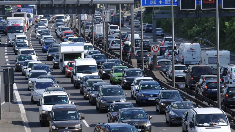 Studie: Berliner Autofahrer stehen am längsten in Staus
