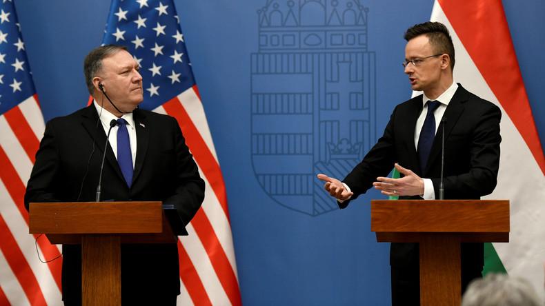 """""""Enorme Heuchelei"""": Ungarn unbeeindruckt von US-Warnung über Zusammenarbeit mit Russland und China"""
