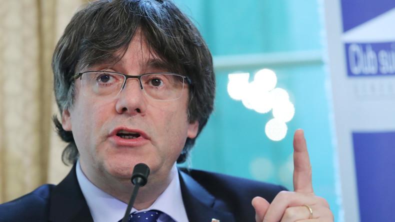 LIVE: Carles Puigdemont gibt in Berlin Pressekonferenz zu Prozess gegen Separatisten in Spanien