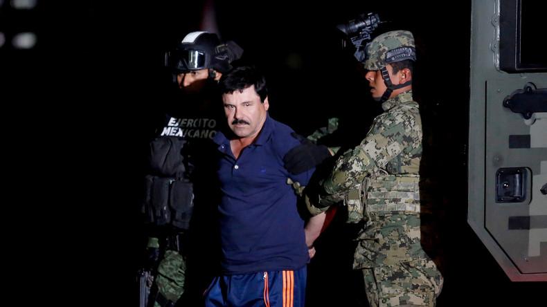 """Mexikanischer Drogenboss """"El Chapo"""" schuldig gesprochen: Lebenslange Haft"""