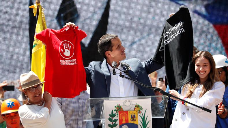 Venezuela: Guaidó kündigt humanitäre Hilfslieferung an