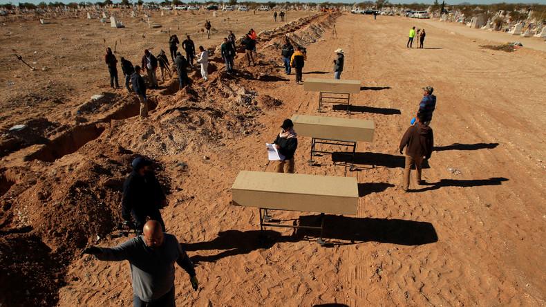 69 Tote in bisher unbekannten Gräbern im Westen Mexikos entdeckt