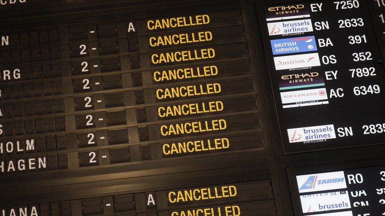 Streik in Belgien: Luftverkehr komplett lahmgelegt, auch Bahn- und Nahverkehr betroffen