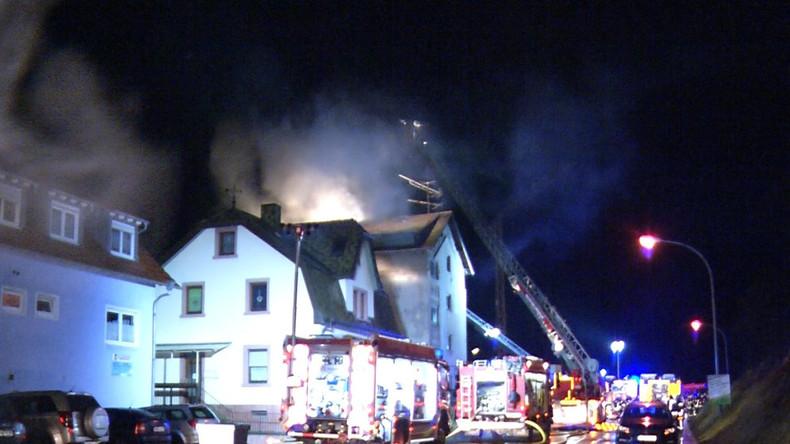 Tabakreste im Müll lösten Brand mit fünf Toten in Rheinland-Pfalz aus