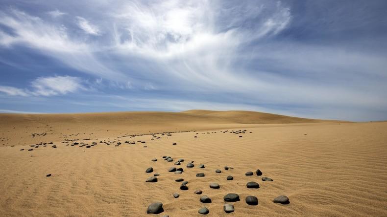 Gran Canaria führt Strafen für Sandmalerei ein