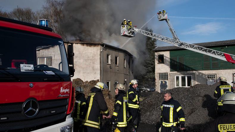 Drei Tote bei Brand im Sauerland