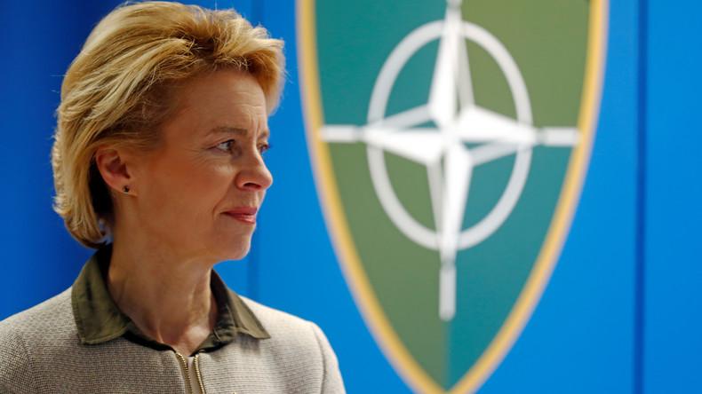 Von der Leyen: Mehr militärische Zusammenarbeit mit Großbritannien