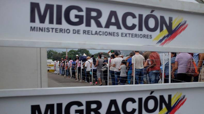 Ausnahmezustand an der kolumbianisch-venezolanischen Grenze verhängt
