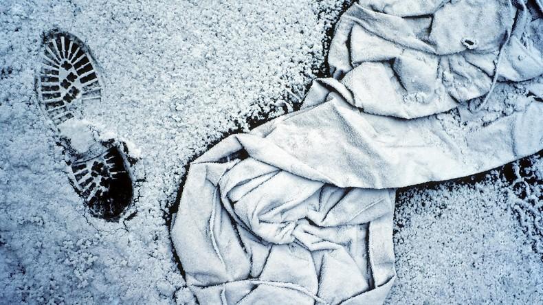 USA: Bankräuber rutscht auf Eis aus - der Polizei in die Arme