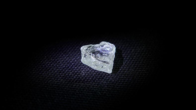 Pünktlich zu Valentinstag: Russen finden 300 Millionen Jahre alten Diamanten in Herzform