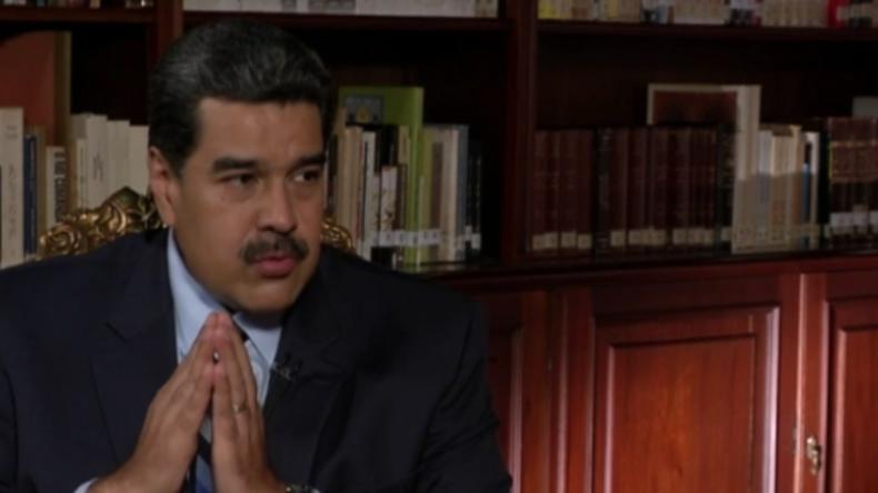 """Warnung an die USA im Falle einer militärischen Intervention: Maduro droht mit einem """"neuen Vietnam"""""""