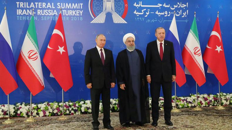 LIVE: Putin, Rouhani und Erdoğan geben Pressekonferenz nach Gesprächen in Sotschi