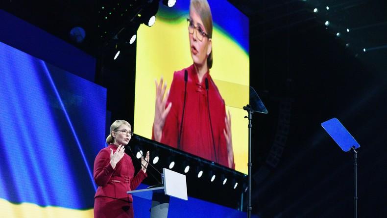J.W. Timoschenko vs. J.W. Timoschenko: Die Kandidatin wirft Poroschenko Manipulation vor