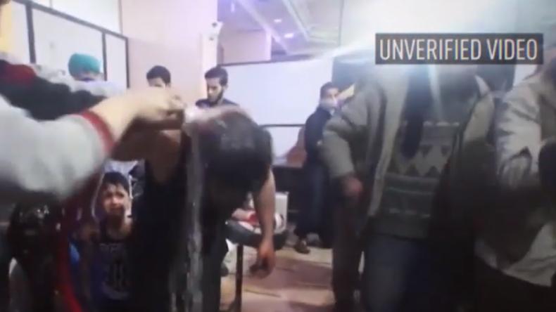 Waren Giftgas-Aufnahmen aus Duma inszeniert? (Video)