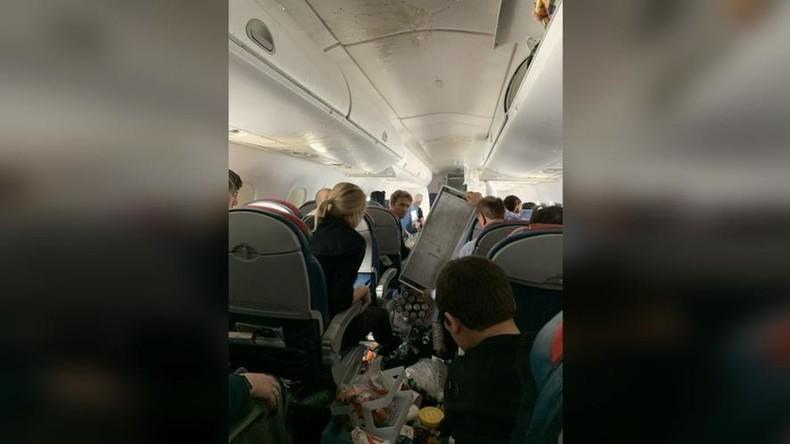 Heftige Turbulenzen: Flugzeug zweimal im Sturzflug – fünf Verletzte