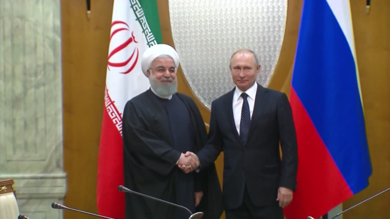 Russland: Rohani und Putin diskutieren über die Zusammenarbeit in Syrien