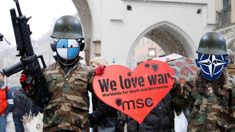 """Staatsgelder für """"Kriegskonferenz"""" - Opposition kritisiert Kosten für Münchener Sicherheitskonferenz"""