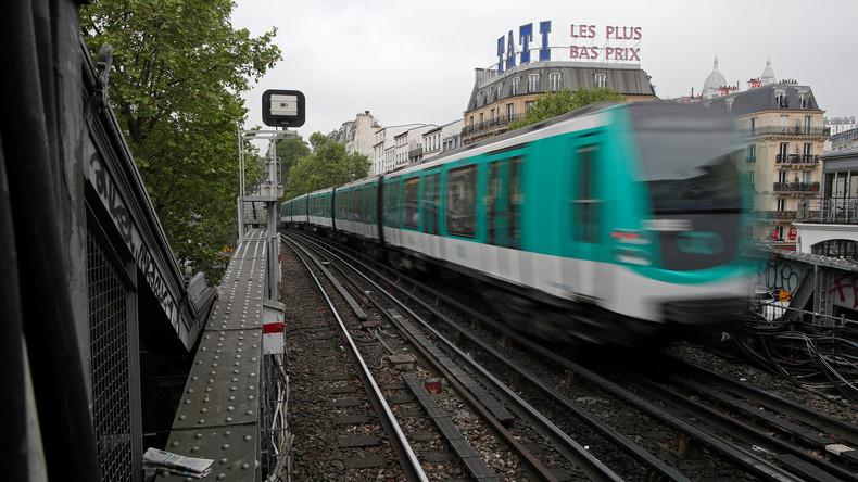 Säureattacke in Pariser U-Bahn: Ein Mensch schwebt in Lebensgefahr