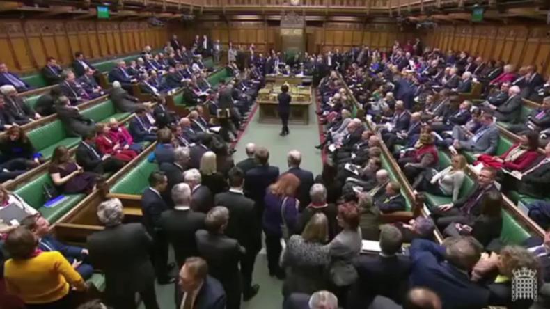 Theresa May erleidet eine weitere Brexit-Niederlage im Unterhaus
