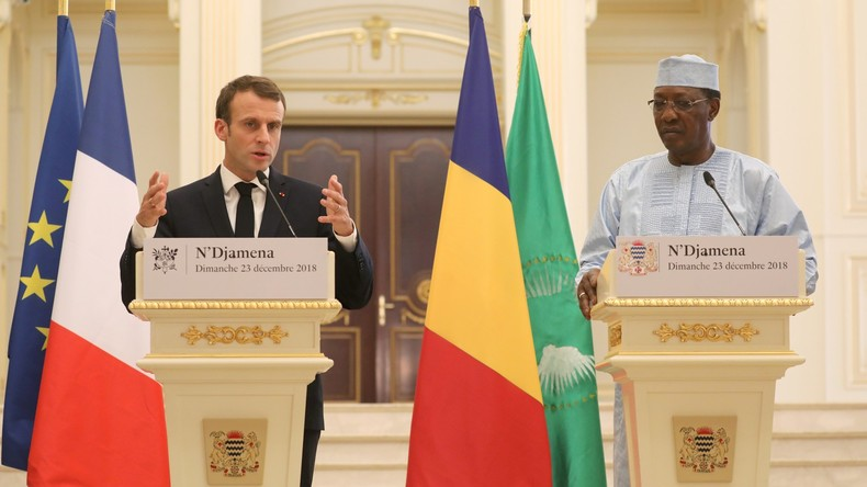 Frankreich greift Rebellen im Tschad an (Video)