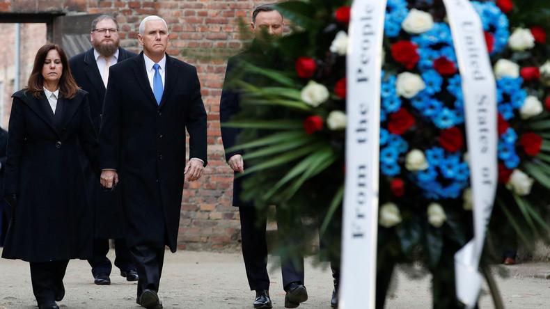 US-Vizepräsident Pence besucht Gedenkstätte Auschwitz