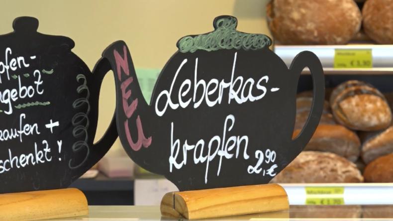Bayerischer Leberkas im Teigkrapfen löst Vegetarier-Shitstorm aus