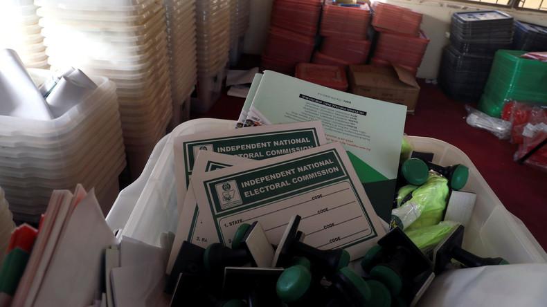 Präsidentenwahl in Nigeria kurz vor Beginn verschoben
