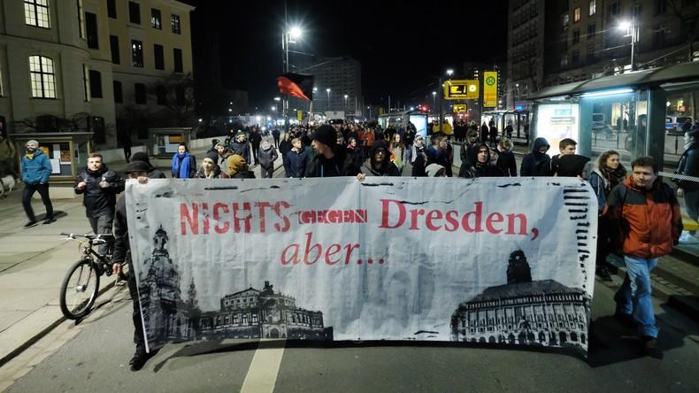 18 Ermittlungsverfahren nach Aufmarsch von Rechtsextremen in Dresden