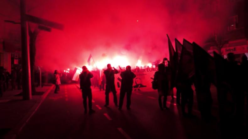 Europa: Nationalistenaufmärsche in Sofia und Kiew