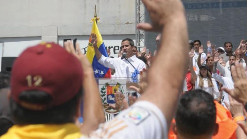"""Guaidó: """"Maduro wagt es, die humanitäre Krise zu leugnen"""""""