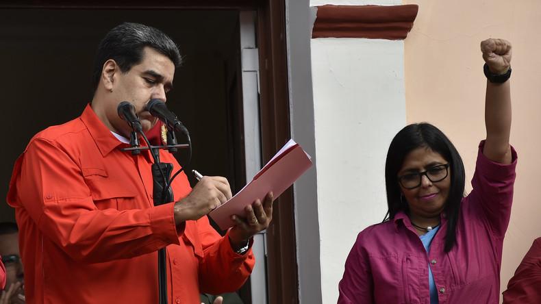 """EU-Vertreter nicht erwünscht: Venezuela weist """"interventionistische"""" pro-Guaidó-Delegation aus"""