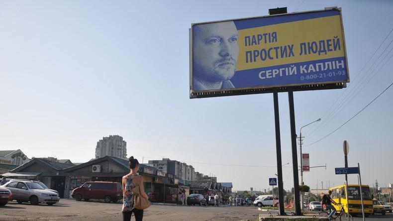 Ukraine: Präsidentschaftskandidat verwechselt sein Wahlprogramm mit 25-Punkte-Programm der NSDAP