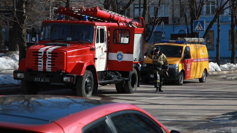 Drei Explosionen in Donezk