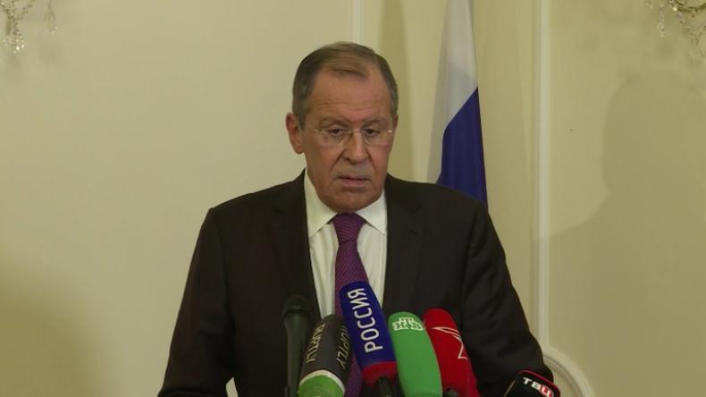 """Lawrow: """"Bühnencharakter ist offensichtlich – kein Zweifel, dass Giftgas-Angriff in Duma fake war"""""""