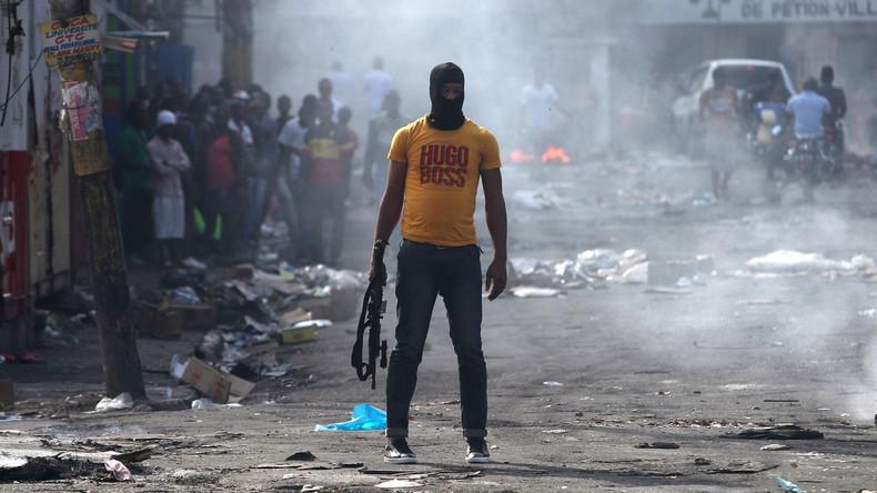 Wie hängen die Unruhen in Haiti mit dem US-Putschversuch  in Venezuela zusammen?