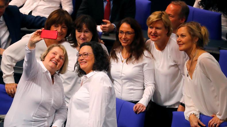 Nahles fordert gesetzliche Frauenquote von 50 Prozent für den Bundestag