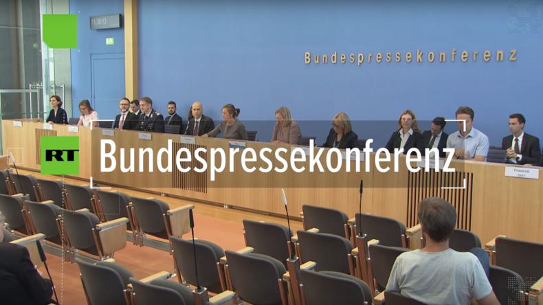 """Bundespressekonferenz: """"IS-Kämpfer haben das Recht, nach Deutschland zurückzukehren"""""""