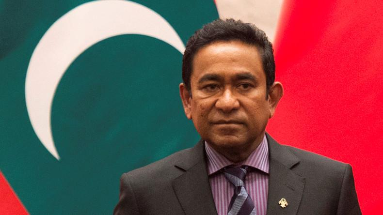 Ex-Präsident der Malediven vor Geldwäsche-Prozess verhaftet